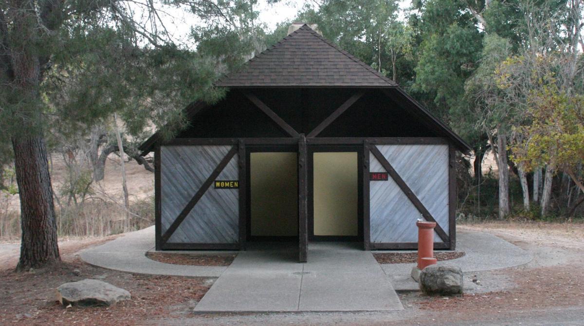 Hans Christian Andersen Park small restrooms