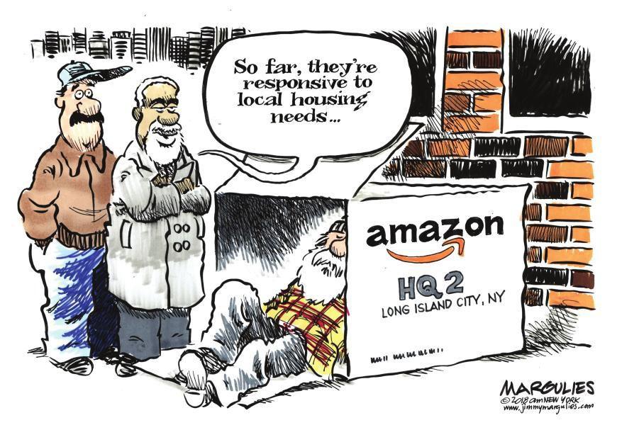 Cartoon: Amazon housing