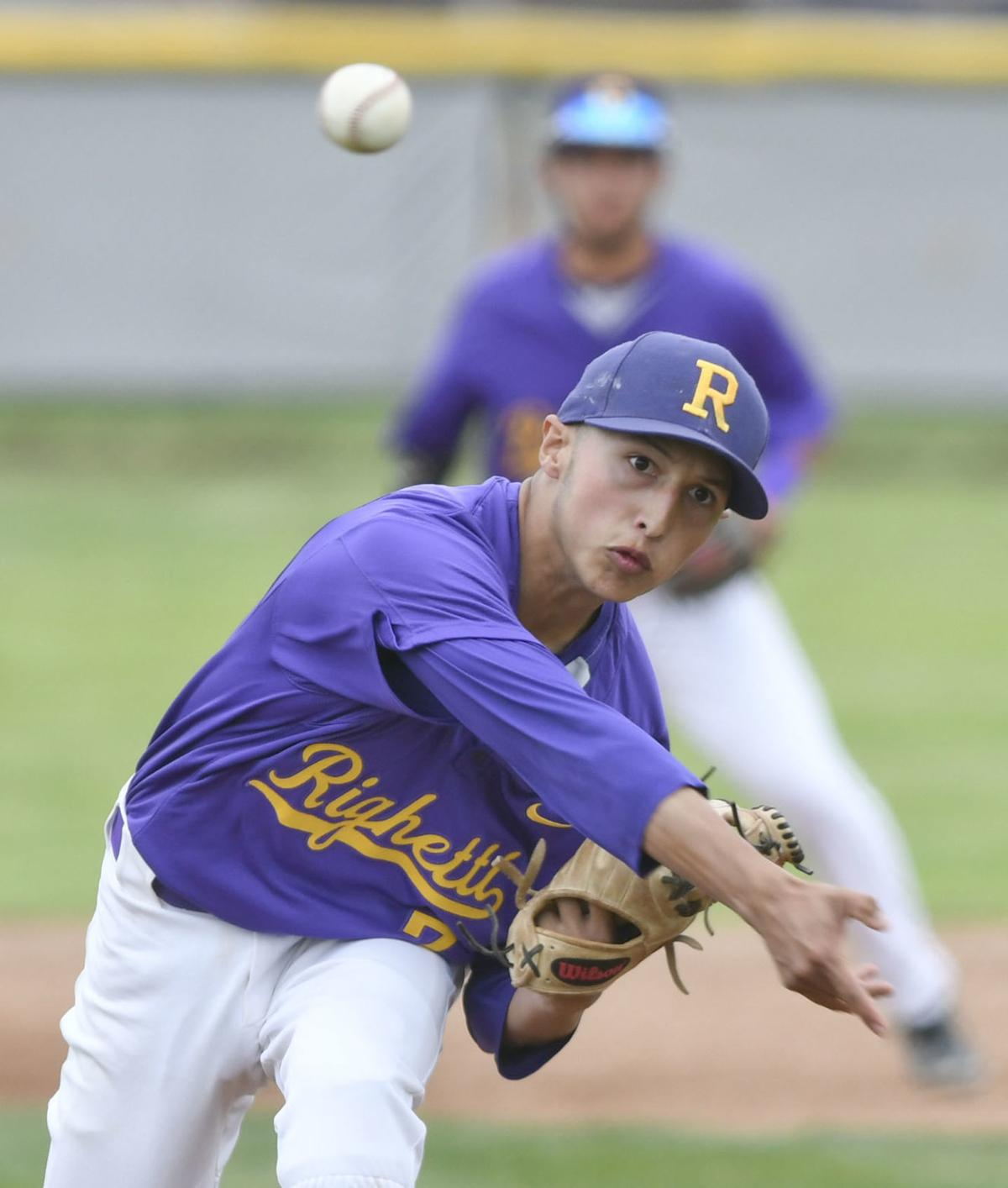 Caleb Dulay delivers against Bakersfield Centennial
