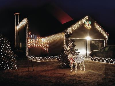 Stay safe when stringing holiday lights