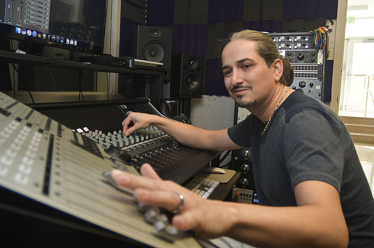 Music production class offers hands-on learning for Hancock students, studio time for local musicians