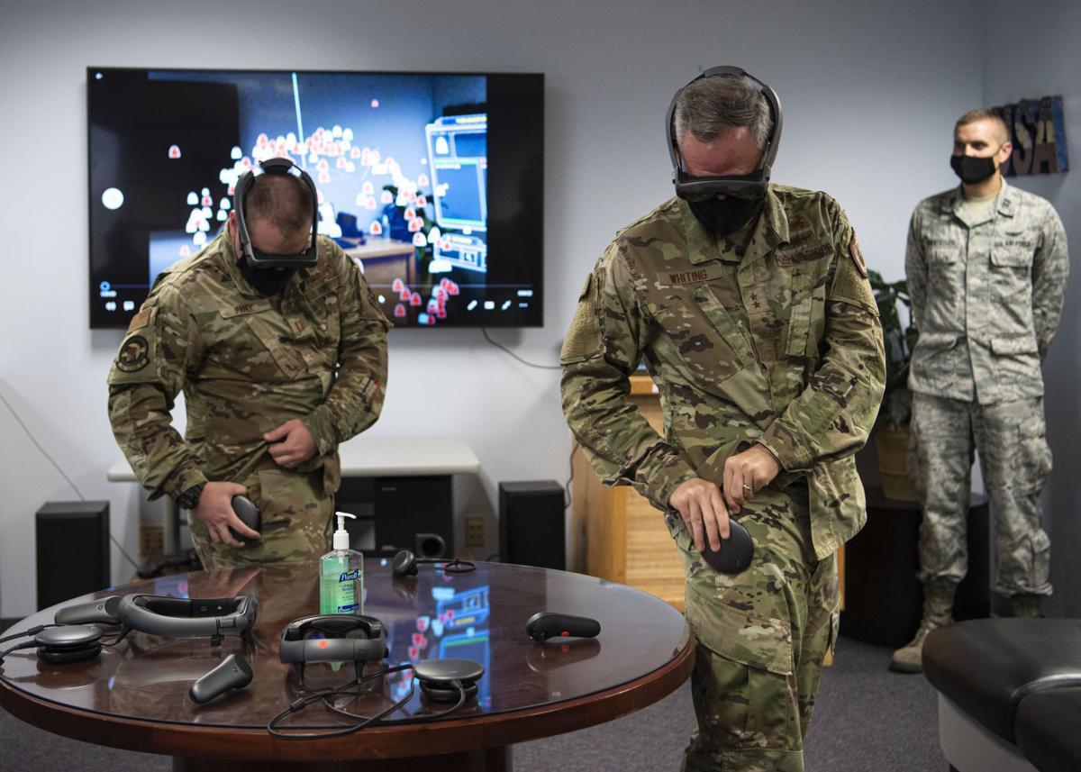 Virtual training equipment