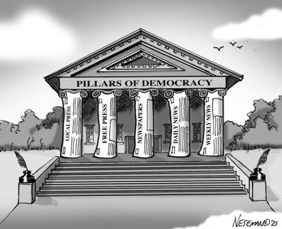 cartoon: National Newspaper Week 1