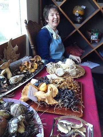 Bedford Winery tasting room manager Helen Daniels