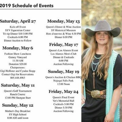 2019 Santa Ynez Valley Youth Recreation Queen
