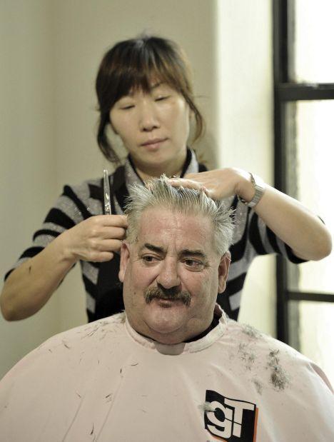 Free showers, haircuts for needy