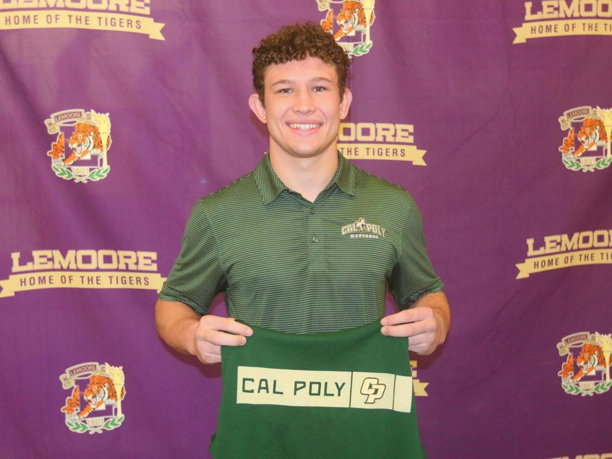 William Kloster signs NLI with Cal Poly