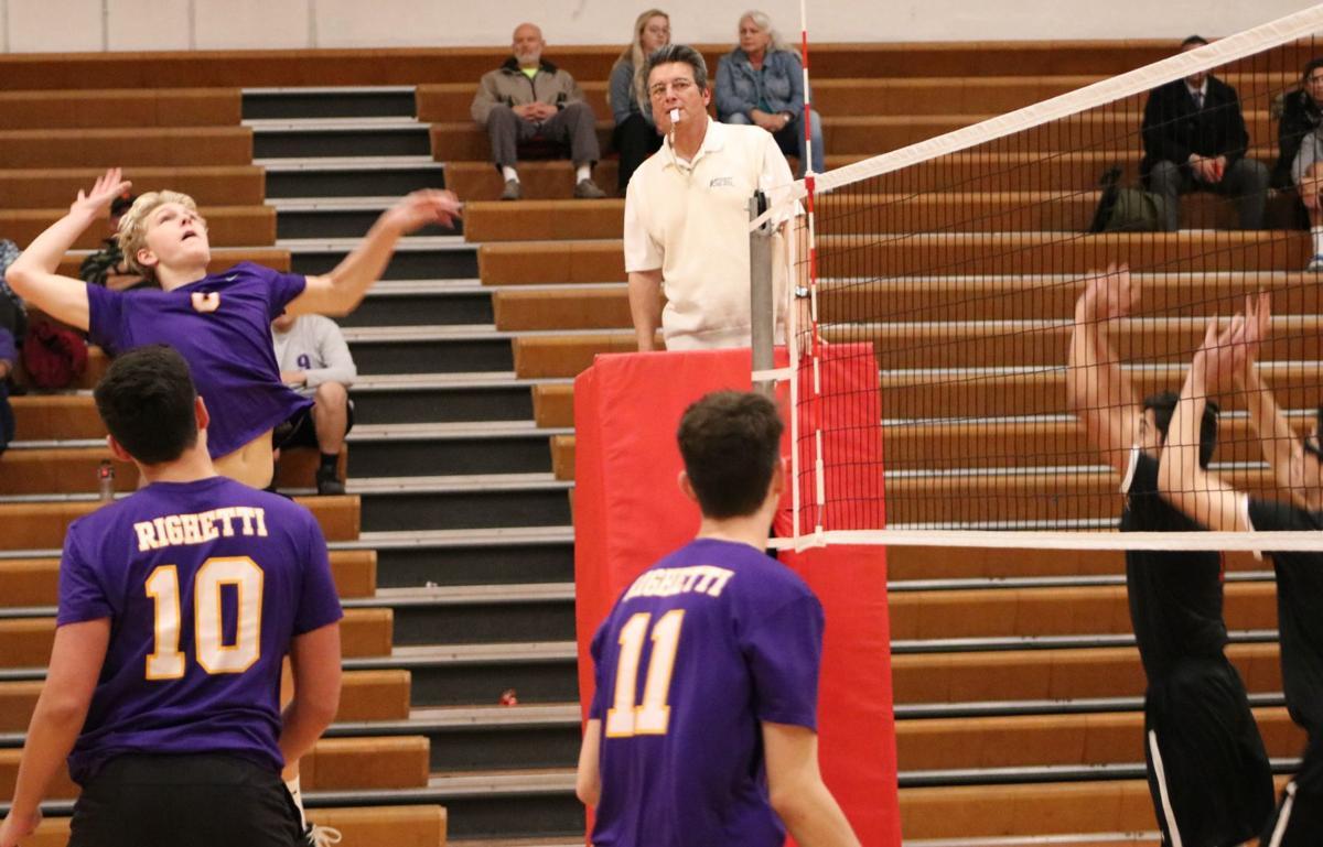 Righetti begins boys volleyball season with 3-0 win at Santa