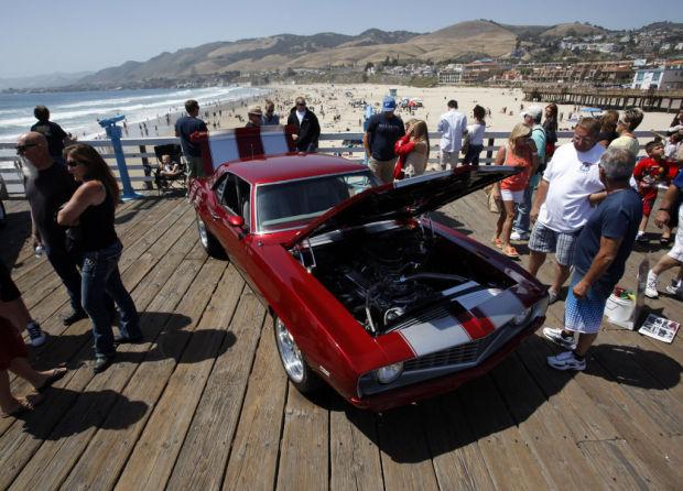 Pismo Beach Car Show Officially Kicks Off Thursday Local News - Classic car show pismo beach
