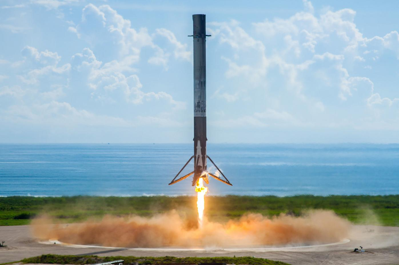 SpaceX landing in Florida