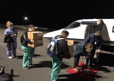 Montana VA Vaccination Team