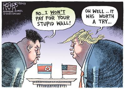 Cartoon: Summit deal-breaker?