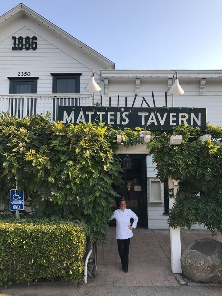 Maili Halme at Mattei's Tavern