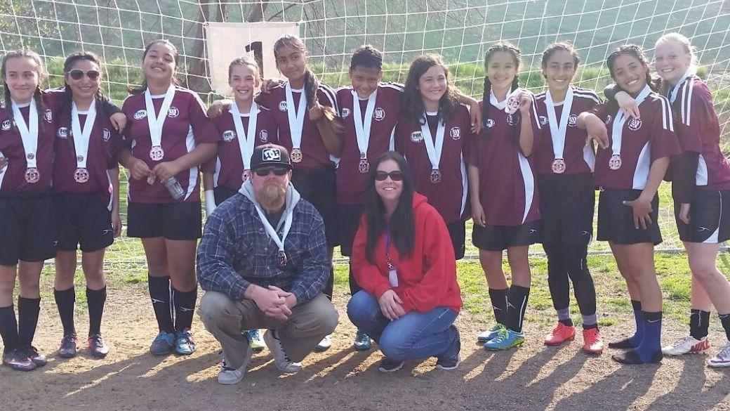 Nipomo AYSO Girls U14 team takes 3rd at sectionals