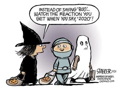 Editorial Cartoon: Boo