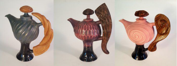 Donald Frith's Teapots