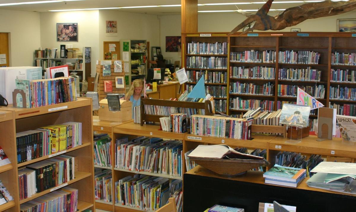 Solvang Library interior