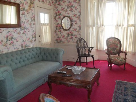 The living room of the Frederick Wickenden house