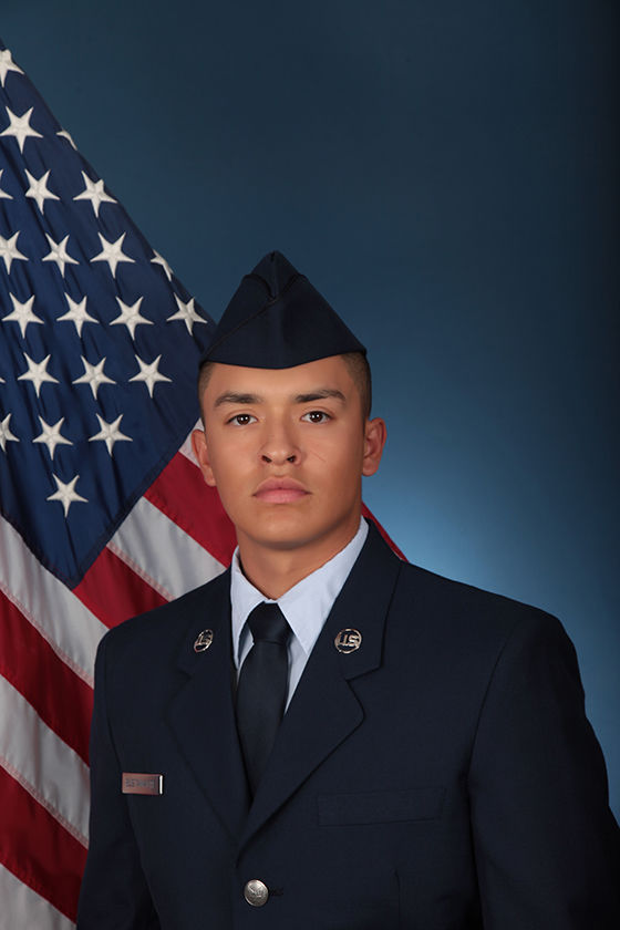 In the Military -- Anthony M. Bustamante