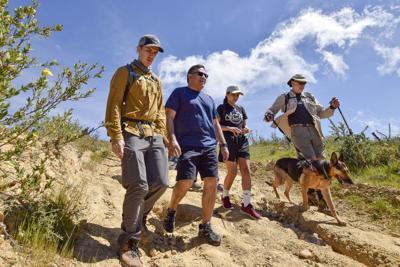 Carbajal leads hike to announce legislation creating new wilderness area in Santa Barbara, San Luis Obispo counties