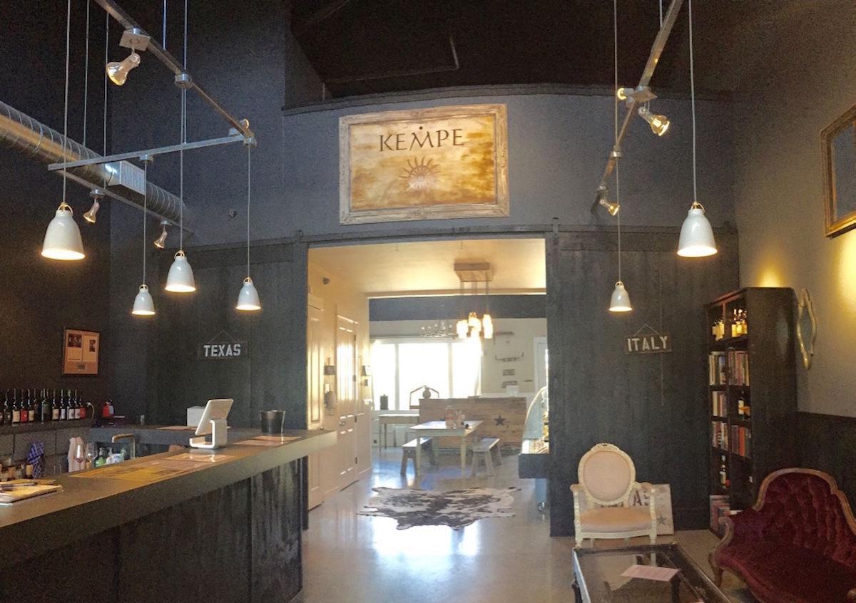 The Barbieri-Kempe tasting room