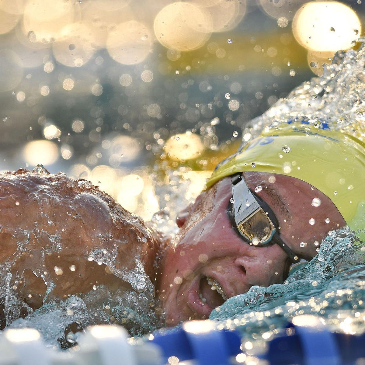 Santa Maria Swim Club's Parker Reynolds qualifies for
