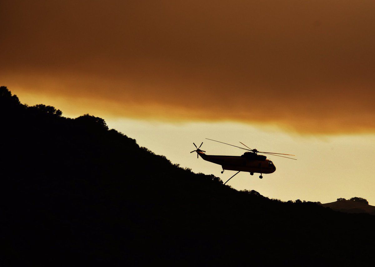 Whittier fire burns more than 10,000 acres