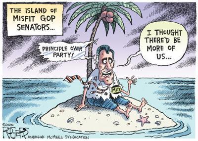 Editorial Cartoon: Principle Over Party