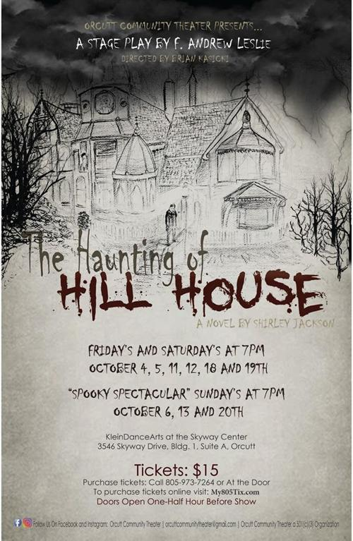 Theater Review Orcutt Community Theater S The Haunting Of Hill House Is Appropriately Chilling Lifestyles Santamariatimes Com
