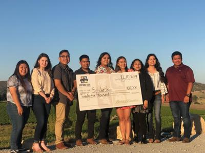 Vineyard Team breaks annual record, awards $26,000 in scholarships