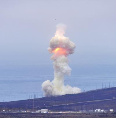091221 Ground-based interceptor missile