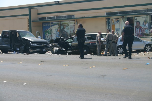 Four-vehicle crash reported in Santa Maria