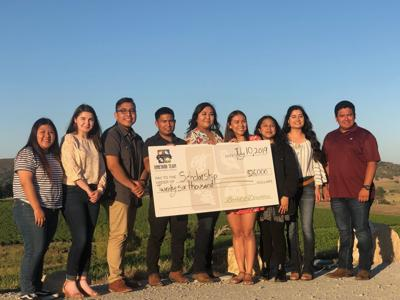 091219 Vineyard Team scholarship recipients