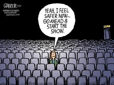 Editorial Cartoon: Safer
