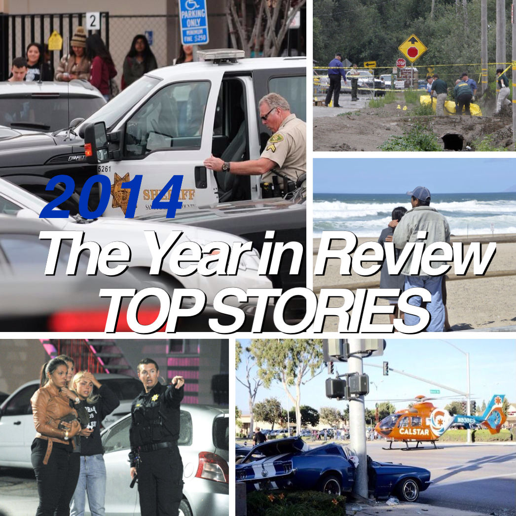 Lee Central Coast News top stories, 2014