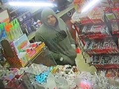 West Alvin Street armed robbery