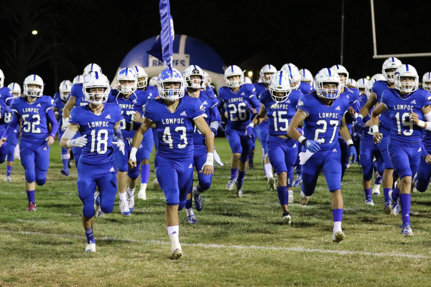 Lompoc and Cabrillo play in Big Game