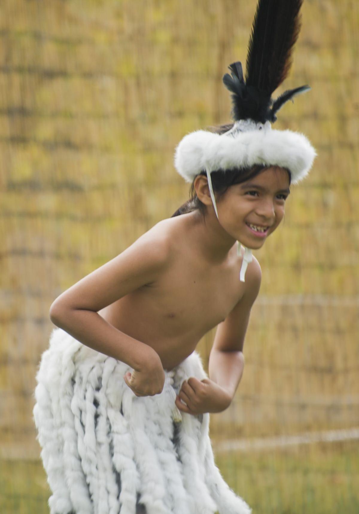 Chumash Culture Day dancer