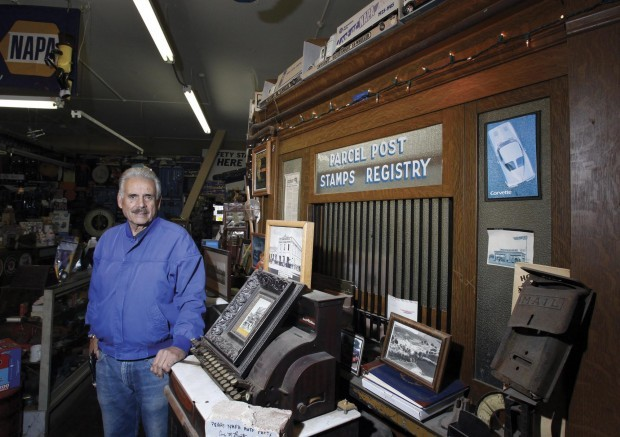 Auto parts store is half museum