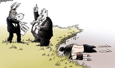 Cartoon: Border priorities