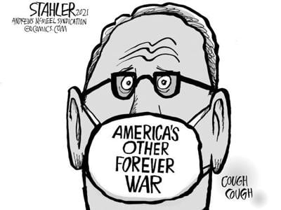 Editorial Cartoon: The other forever war
