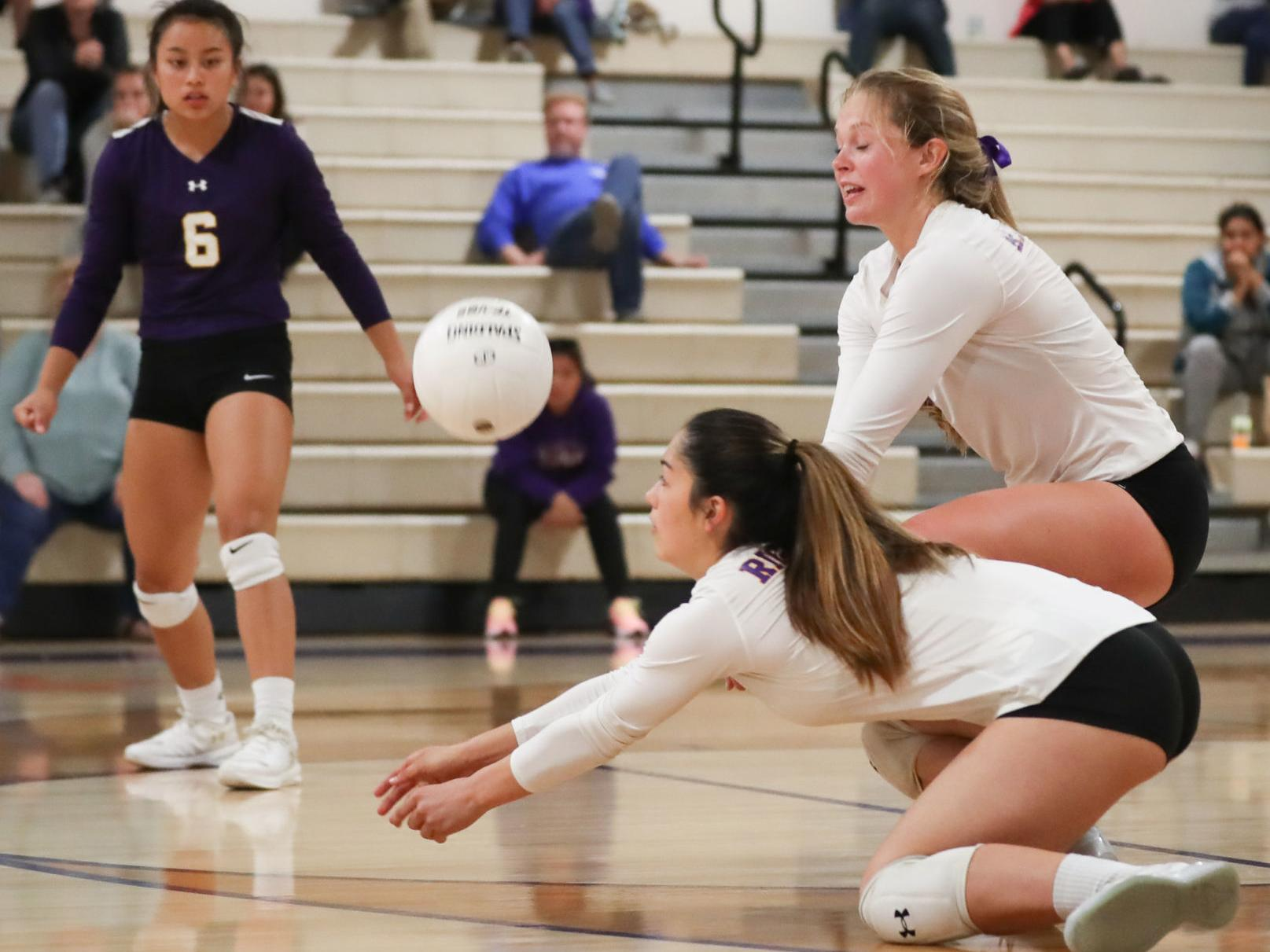 Cif Volleyball Memorial Holds Off Righetti In Five Sets Volleyball Santamariatimes Com