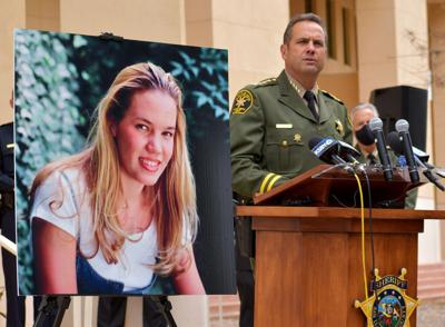 San Luis Obispo County Sheriff Ian Parkinson announced the arrest of Paul and Ruben Flores at the Cal Poly campus where Kristin Smart was last seen in 1996.