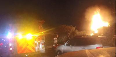 1400 North School Street fire