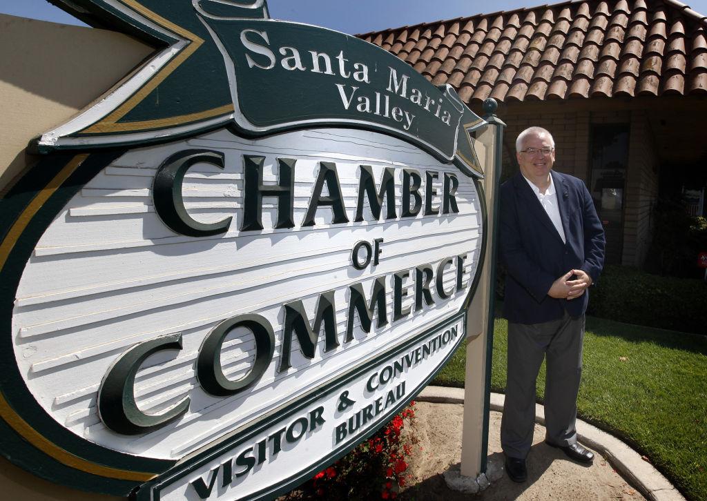 New Santa Maria Valley Chamber of Commerce CEO Glenn Morris