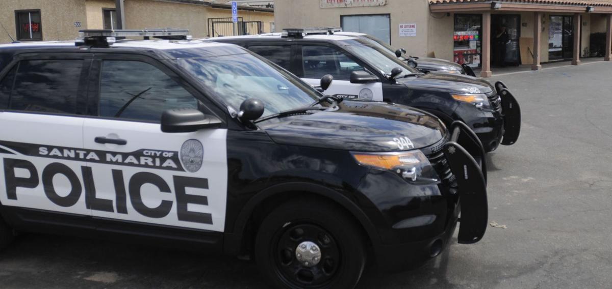 Santa Maria police cruisers