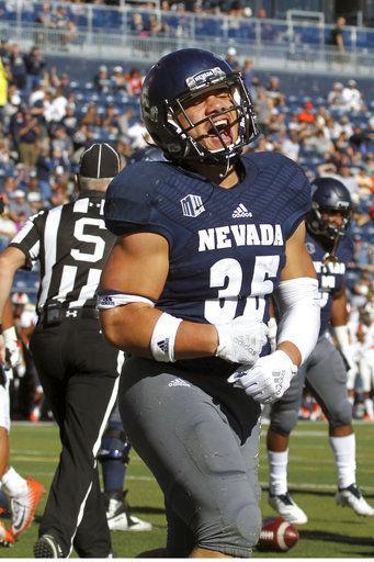 Nevada holds off Oregon State comeback, 37-35