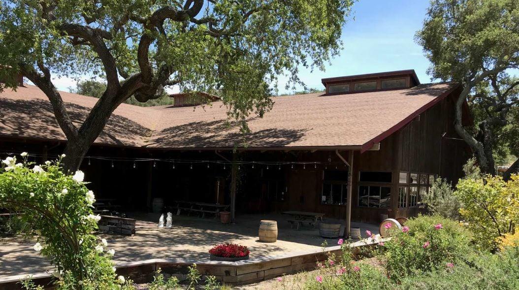 Zaca Mesa Winery tasting room