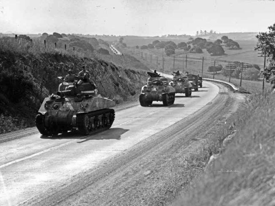 Tanks in Arroyo Grande