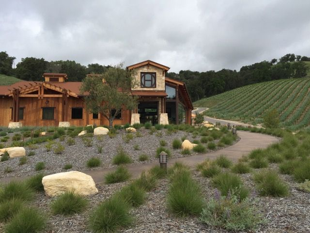 The new tasting room at Halter Ranch in Paso Robles